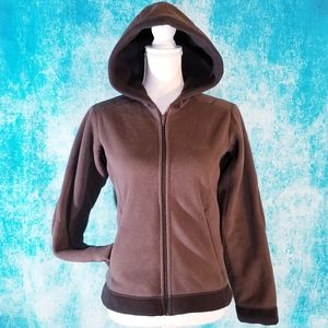 Patagonia Synchilla Brown Full Zip Hooded Jacket